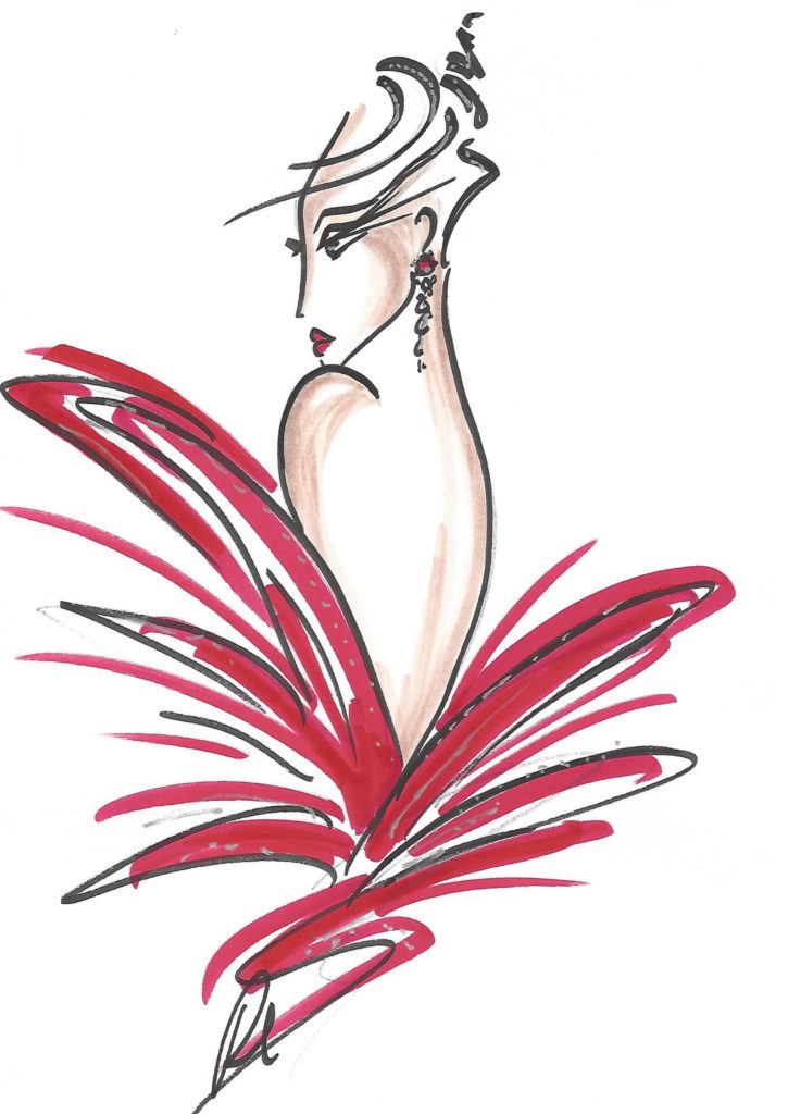 welovart-roland-chessel-couture-stylisme-dessin-croquis-bal-printemps-images